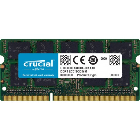 Crucial Ct8g3s160bm Módulo De Memoria 8 Gb Ddr3 1600 Mhz Informática Zaragoza