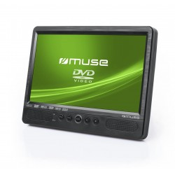 "Muse - M-1095 CVB Portable DVD player Convertible Negro 25,6 cm (10.1"")"
