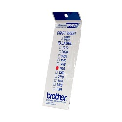 Brother - ID1850 etiqueta de impresora