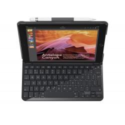 Logitech - Slim Folio teclado para móvil Negro QWERTY Español Bluetooth