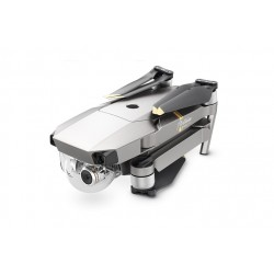 DJI - Mavic Pro Platinum Fly More Combo dron con cámara Cuadricóptero Negro, Plata, Acero inoxidable 12,71 MP 4096