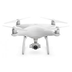 DJI - Phantom 4 Advanced+ dron con cámara Cuadricóptero Blanco 4 rotores 20 MP 4096 x 2160 Pixeles 5870 mAh