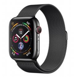 Apple - Watch Series 4 reloj inteligente Negro OLED Móvil GPS (satélite) - 22285937