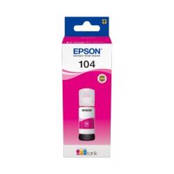 Epson - 104 EcoTank Magenta ink bottle