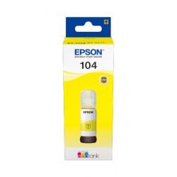 Epson - 104 EcoTank Yellow ink bottle