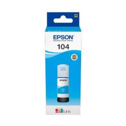 Epson - 104 EcoTank Cyan ink bottle