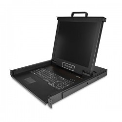 """StarTech.com - RKCONS1701 consola de rack 43,2 cm (17"""") 1280 x 1024 Pixeles Acero 1U"""