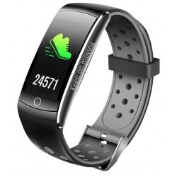"Denver - BFH-14 Wristband activity tracker Acero inoxidable IP68 LCD 2,44 cm (0.96"") Inalámbrico"
