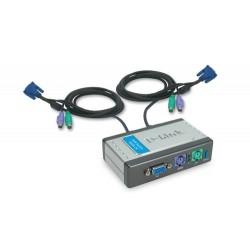 D-Link - DKVM-2K PORT KVM SWITCH interruptor KVM