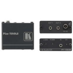 Kramer Electronics - PT-102AN amplificador de audio 2.0 canales Alámbrico Negro
