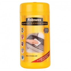 Fellowes - Surface Cleaning toallita desinfectante