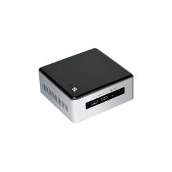 Intel - NUC BOXNUC5I3RYHS PC/estación de trabajo barebone i3-5005U 2 GHz UCFF Negro, Gris BGA 1168