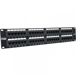 Trendnet - 48-port Cat6 Unshielded Patch Panel panel de parcheo