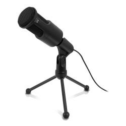 Ewent - EW3552 micrófono Negro Micrófono para PC
