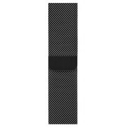 Apple - MTU12ZM/A accesorio de smartwatch Grupo de rock Negro Acero inoxidable