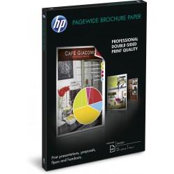 HP - Papel brillante para folletos : 100 hojas/A3/297 x 420 mm