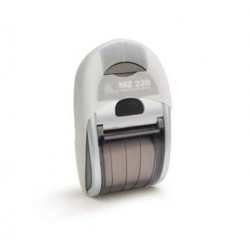 Zebra - AK18354-1 funda para dispositivo periférico Impresora portátil Silicona Blanco