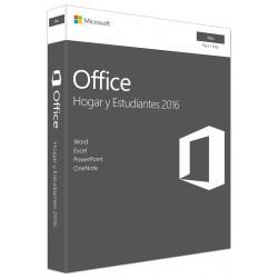 Microsoft - OFFICE HOME STUD2016 MAC 1 LIC LICS 1 licencia(s) Español