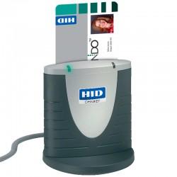 HID Identity - OMNIKEY 3121 lector de tarjeta inteligente Interior Gris USB 2.0