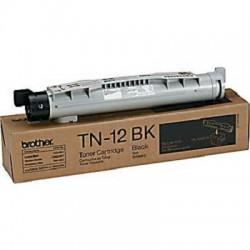 Brother - TN-12BK Tóner de láser 9000páginas Negro tóner y cartucho láser