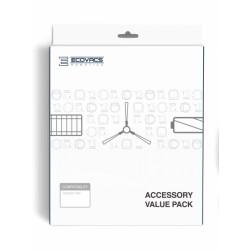 Ecovacs - DR95-KTA accesorio y suministro de vacío Robot vacuum Filtro y cepillo