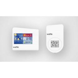 Wattio - CONFORT PACK termoestato Blanco