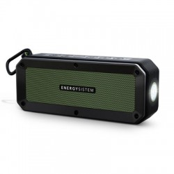 Energy Sistem - Outdoor Box Adventure 10 W Altavoz portátil estéreo Negro, Verde