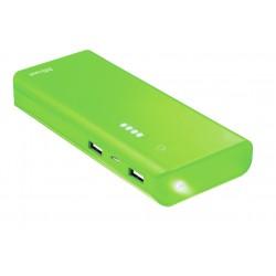 Trust - Primo 10000 mAh batería externa Verde Ión de litio