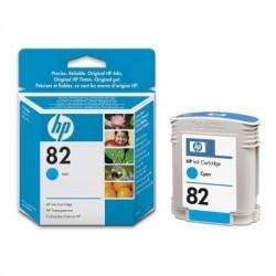 HP - DesignJet 82 cian de 69 ml cartucho de tinta