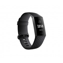 Fitbit - Charge 3 Wristband activity tracker Grafito OLED Inalámbrico y alámbrico