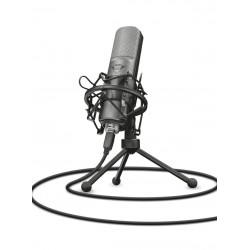Trust - GXT 242 Table microphone Alámbrico Negro