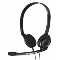 Sennheiser - PC 3 Chat Binaural Diadema Negro auricular con micrófono