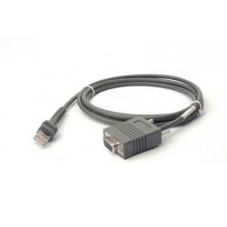 Zebra - CBA-R01-S07PAR 2.1m Gris cable de señal