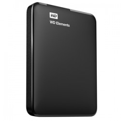 Western Digital - WD Elements Portable disco duro externo 1000 GB Negro - WDBUZG0010BBK-EESN