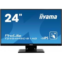 "iiyama - ProLite T2454MSC-B1AG monitor pantalla táctil 60,5 cm (23.8"") 1920 x 1080 Pixeles Negro Multi-touch Multi-"