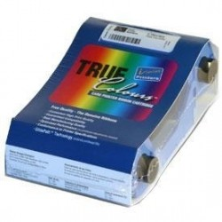 Zebra - TrueColours® Resin - black - f P310f 1000páginas cinta para impresora