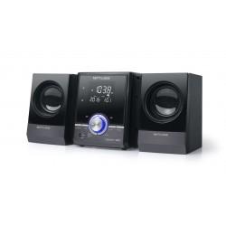 Muse - M-38 BT sistema de audio para el hogar Microcadena de música para uso doméstico Negro 10 W