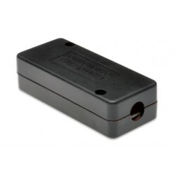 Digitus - Cat 7 caja de conexiones de red Negro