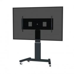 "Newstar - PLASMA-M2500BLACKMS Portable flat panel floor stand Negro 2,54 m (100"")"