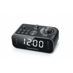 Muse - M-18CRB radio Reloj Analógica Negro