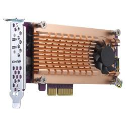 QNAP - QM2 tarjeta y adaptador de interfaz M.2 Interno