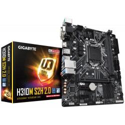 Gigabyte - H310M S2H 2.0 placa base LGA 1151 (Zócalo H4) micro ATX Intel H310 Express