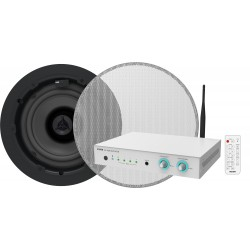 Vision - AV-1800+CS-1800 amplificador de audio Hogar Negro, Blanco