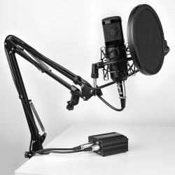 Mars Gaming - MMICKIT micrófono Micrófono de estudio Negro