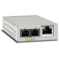 Allied Telesis - AT-MMC200/SC-60 convertidor de medio 100 Mbit/s 1310 nm Multimodo Plata