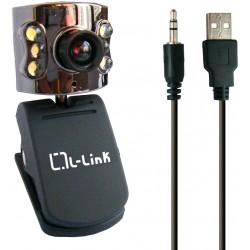 L-Link - LL-4184 5MP USB 2.0 Negro cámara web