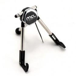 MCL - ACC-TRIPOD/N Interior Soporte pasivo Negro, Cromo soporte