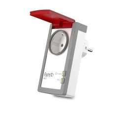 AVM - FRITZ DECT 210 INTERNATIONAL enchufe inteligente Rojo, Blanco 1,5 W
