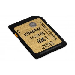 Kingston Technology - SDHC/SDXC Class 10 UHS-I 16GB 16GB SDHC UHS Clase 10 memoria flash