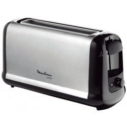 Moulinex - Subito 1 tostadora 1 rebanada(s) Negro, Acero inoxidable 1000 W